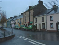 Scarriff County Clare Ireland town centre